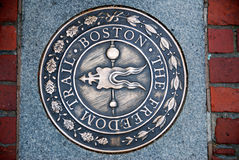 Freedom Trail Boston Stock Images