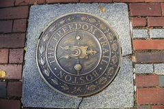 The freedom trail Royalty Free Stock Photography