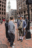 Freedom Trail Stock Photo