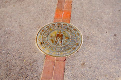 The Freedom Trail Sign Stock Photography