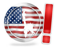 Freedom US Design Stock Images