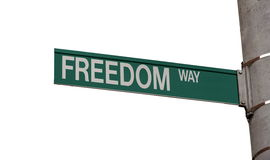 Freedom Way Royalty Free Stock Images
