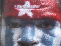Freedom of west papua Royalty Free Stock Photos