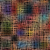 Colorful pattern, based on manually drawn marker lines