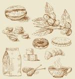 Freehand stroke vector illustration Royalty Free Stock Photo