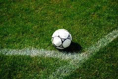 Freekick spot Stock Image