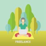 freelance Foto de Stock