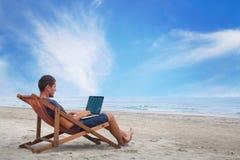 Freelance het werk royalty-vrije stock foto's