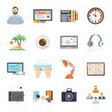 Freelance Icon Flat Royalty Free Stock Image