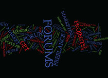 Freelance Projects Text Background  Word Cloud Concept Royalty Free Stock Images