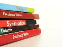 Freelance Schrijver Stock Afbeelding