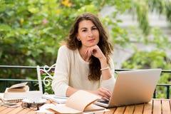 Freelance writer Stock Photo