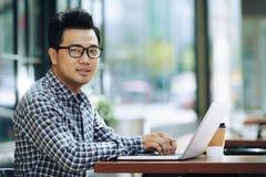 freelancer fotografie stock