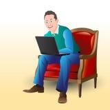 freelancer Fotografia de Stock