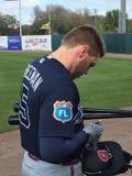 Freeman. Baseball player Freddie Freeman-Astros Royalty Free Stock Photography