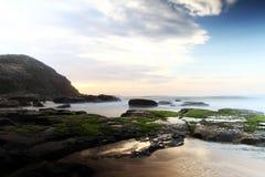 Freemans海滩 免版税库存照片