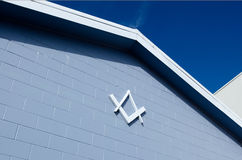 Freemason Center Stock Image