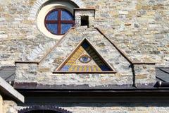 Freemason`s token Stock Images