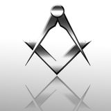 Freemason symbol Stock Photo