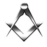 Freemason symbol Stock Photography