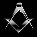 Freemason symbol Stock Image