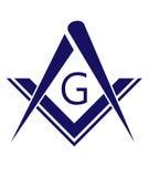 freemason symbool royalty-vrije illustratie