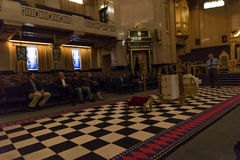 Freemasons Hall London royalty free stock photos