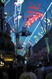 Freemont Street Las Vegas Stock Image