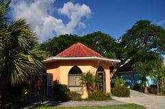 Freeport. Buildings of freeport, international bazaar, grand bahama island, bahamas royalty free stock photography