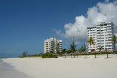 Freeport beach. Bahamas islands royalty free stock photography
