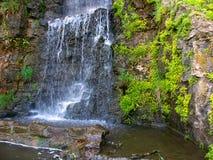Freeport för Illinois vattenfalllandskap Royaltyfria Bilder