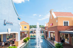 Freeport A`Famosa Outlet is the biggest shopping mall in Alor Gajah,Malacca. Malacca,Malaysia - July 16,2017 : Freeport A`Famosa Outlet is the biggest shopping royalty free stock images