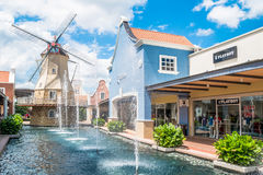 Freeport A`Famosa Outlet is the biggest shopping mall in Alor Gajah,Malacca. Stock Photos