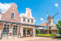 Freeport A`Famosa Outlet is the biggest shopping mall in Alor Gajah,Malacca. Malacca,Malaysia - July 16,2017 : Freeport A`Famosa Outlet is the biggest shopping stock images