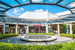 Freeport A`Famosa Outlet is the biggest shopping mall in Alor Gajah,Malacca. Malacca,Malaysia - July 16,2017 : Freeport A`Famosa Outlet is the biggest shopping stock image