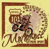 Freeride adventure Stock Photo