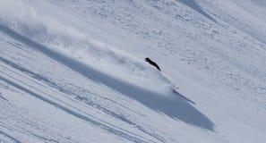 Freeride auf Kamchatka Lizenzfreies Stockfoto