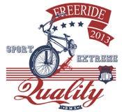 Freeride bike Stock Photo