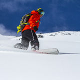 Freeride in Chile Royalty Free Stock Photography