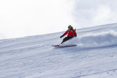 Freeride in Chile Stock Photography