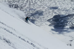 Freeride in Chile Stock Photo