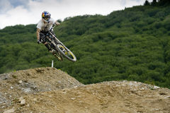 Freeride competition Royalty Free Stock Photography