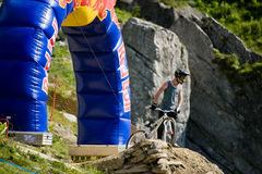 Freeride competition Stock Photography