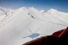 Freeride em Kamchatka Imagem de Stock