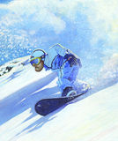 Freeride 2008 Royalty Free Stock Photo