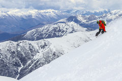 Free Freeride In Chile Stock Photography - 34140892