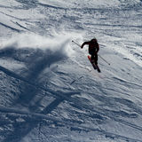 Freeride on  Kamchatka Stock Photos