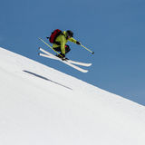 Freeride on  Kamchatka Stock Images