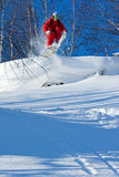 Freeride in Siberia Royalty Free Stock Photo