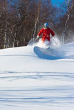 Freeride in Siberia Royalty Free Stock Photography